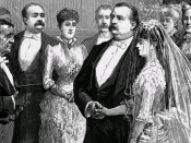 Frances Folsom married President Grover Cleveland on June 2, 1886, becoming the First Lady of the United States.