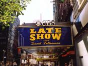 The Ed Sullivan Theater, where Late Show with David Letterman is recorded