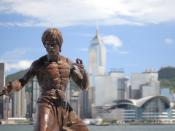 Hong kong bruce lee statue 2