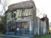 English: The remains of Bryant's Grocery and Meat Market, the store that Emmett Till walked into in Money, Mississippi, where he interacted with a woman related to Till's murderers. See Page 22 of Jet magazine, September 19, 2005, Vol. 108, No. 12 - ISSN