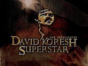 David Koresh Superstar