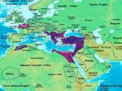 The Roman Empire in 477 AD.