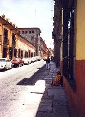 Looking down a street in San Miguel de Allende 2