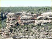 Cliff Dwelling, Mesa Verde, Chapin Mesa 8-08