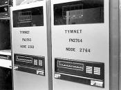A Tymnet node, in 1983.