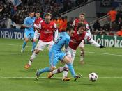 Rosicky back defending