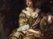Unknown woman, formerly known as Eleanor ('Nell') Gwyn. NPG 3976