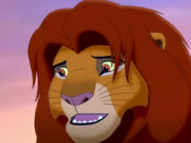 Adult Simba from The Lion King II: Simba's Pride