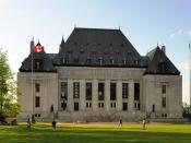 Deutsch: Ottawa: Oberster Gerichtshof von Kanada