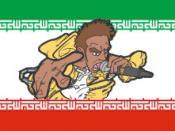 Iranian Rap graphics