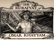 English: Illustration (1900-1901) by Herbert Cole for an edition of the Rubaiyat of Omar Khayyam