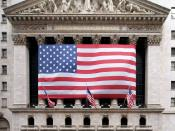 New York Stock Exchange on Wall Street in New York, New York, United States. Español: Bolsa de Nueva York en Wall Street en Nueva York, Nueva York, en los Estados Unidos.