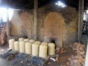 A wood fired pottery kiln in Hoi An Vietnam.
