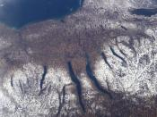 New York's Finger Lakes. Lying below Lake Ontario, the Finger Lakes formed in tunnel valleys.