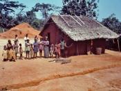 Community portrait of Yambuku, Zaire -- 1976