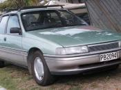 English: 1988–1990 Holden VN Calais.