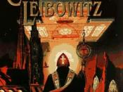 Cover of a 1997 Spectra paperback edition of A Canticle for Leibowitz.