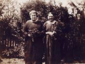 Katie Benson & Elizabeth Jane Roberts-Huff
