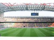 Bigger 4 Fun! Panoramica di San Siro (Giuseppe Meazza) La partita è Milan-Atalanta