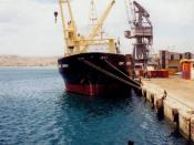 Porto do Lobito, Angola
