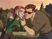 Jean Grey and Scott Summers in Wolverine and the X-Men.