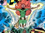 Marvel Girl becomes Phoenix. (X-Men, vol. 1 #101) Art by Dave Cockrum.