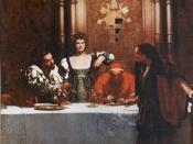 A Glass of Wine with Caesar Borgia