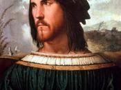 Portrait of Gentleman, aka Cesare Borgia.