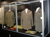 English: Uniforms of Major General Billy Mitchell at the National Museum of the United States Air Force