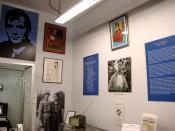 English: Jack kerouac's room in the Beat Museum, in San Francisco. Français : Salle Jack Kerouac dans le Musée de la Beat Generation, à San Francisco.