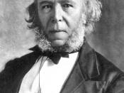 Herbert Spencer (27 April 1820 - 8 December 1903) was an English philosopher.