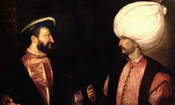 English: Francois I and Suleiman the Magnificient