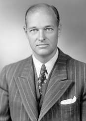 English: American diplomat and political scientist George F. Kennan (1904-2005)