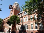 English: City University's College Building on St John Street in London's Clerkenwell.