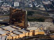 English: Self made image. GDFL. Aerial view of the Borgata complex. Hotel, Casino, and Spa in Atlantic City, New Jersey