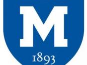 English: Logo of Mercersburg Academy