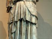 Phidias. Athena Lemnia in in the Staatliche Museum, Albertinum, Dresden. Plaster cast in Pushkin Museum, Moscow