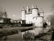 """Le Jour ni l'Heure 8302 : château de La Barge, XIIe-XVIe-XVIIIe s., """"le château que bordait la Dore"""" de la romance de Chateaubriand, Courpière, Puy-de-Dôme, Auvergne, dimanche 2 mars 2014, 12:59:09"""