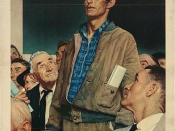 Freedom of Speech from the Four Freedoms series by Norman Rockwell
