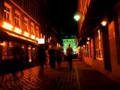 English: Herbertstrasse (near Reeperbahn), the red district. Hamburg, Germany