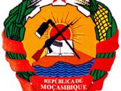 English: Mozambican coat of arms Español: Escudo de Armas de Mozambique