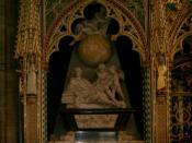 Monument to Isaac Newton over his tomb in Westminster Abbey, London Polski: Grób Isaaca Newtona Opactwo Westminsterskie, Londyn Català: Tomba d'Isaac Newton a Westminster Abbey, Londres Русский: Памятник Исааку Ньютону на его могиле в Вестминстерском Абба