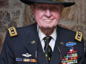 LTG(R) Hal Moore at the United States Military Academy at West Point on 10 May 2010