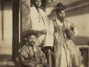 One of the oldest photographs of Korean people
