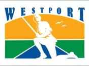 Official flag of the town of Westport, Connecticut