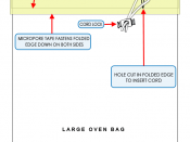English: Diagram of a suicide bag also known as an exit bag