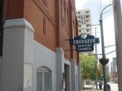 Ebenezer Baptist Church in Atlanta, where Martin Luther King Jr. preached