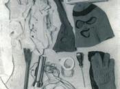 Items found in Bundy's Volkswagen, Utah, 1975