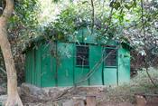 Deutsch: Fütterungsstation von Jane Goodall im Gombe Stream National Park
