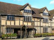 English: Birth place of William Shakespeare, Stratford upon Avon, England.